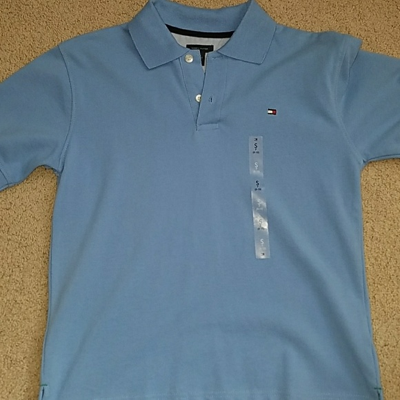 1b1efe26 Tommy Hilfiger Shirts & Tops   Boys Size 810 Polo Shirt Nwt   Poshmark